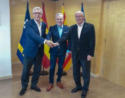 Salou, Cambrils, Reus i Tarragona escenifiquen màxima unitat per reivindicar l´ estació intermodal i el nou desplegament ferrroviari