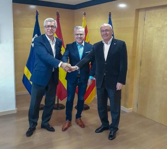 Salou, Cambrils, Reus y Tarragona escenifican máxima unidad para reivindicar la estación intermodal y el nuevo despliegue ferrroviari